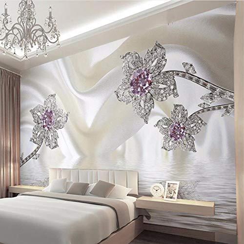Mddjj personalizzato 3d stereo murale carta da parati rotolo di alta qualità semplice design damasco carte da parati complementi arredo casa papel de parede para quarto em 3d-400x280cm