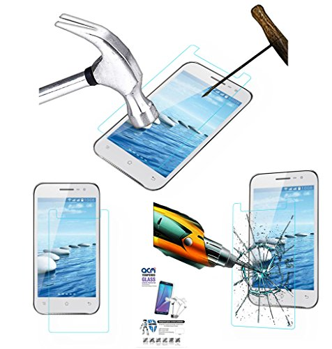 Acm Tempered Glass Screenguard For Spice Mi-505 Stellar Horizon Pro Mobile Screen Guard Scratch Protector  available at amazon for Rs.319