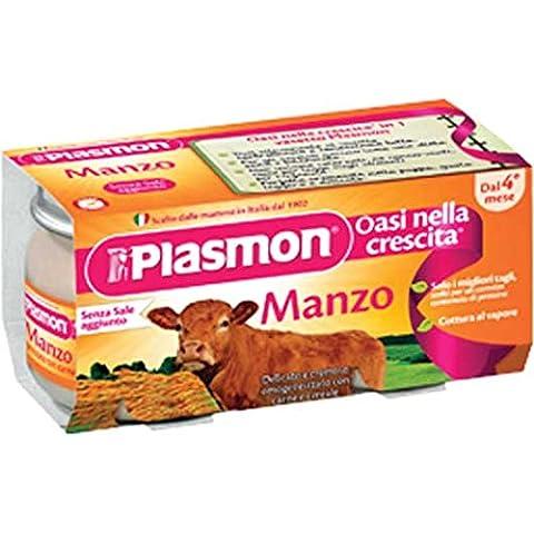 Plasmon homogenisiert Rindfleisch omogenizzato Manzo italienische 2