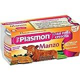 Plasmon homogenisiert Rindfleisch omogenizzato Manzo italienische 2 x 80g