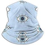 Bklzzjc Halswärmer für Augen und Wimpern - Halsschutzschlauch, Ohrenwärmer-Stirnband und Gesichtsmaske.