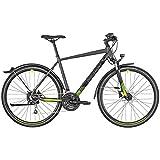 Bergamont Helix 6 EQ Cross Trekking Fahrrad grau/schwarz/grün 2019: Größe: 52cm (170-178cm)