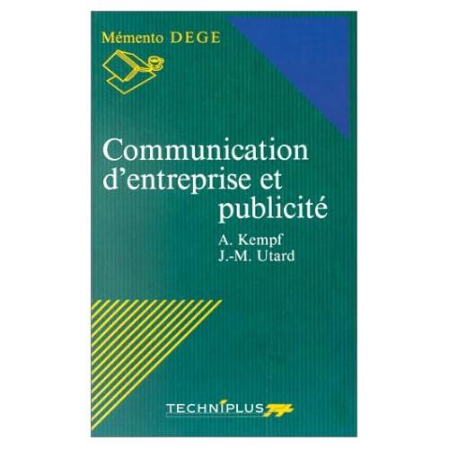Communication d'entreprise et publicité