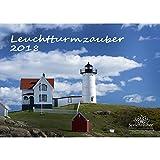 Premium Kalender 2018 · DIN A4 · Leuchtturmzauber · Leuchtturm · Meer · Schiff · Wellen · Edition Seelenzauber