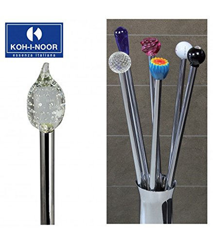 Koh-I-Noor 57120 Porta Scopino Frac Goccia in Cristallo, 77 cm
