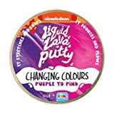 Nickelodeon Liquid Lava Putty Changing Colour Purple to Pink