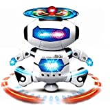 Dancing Robot With LED Light And Music, Multi Color