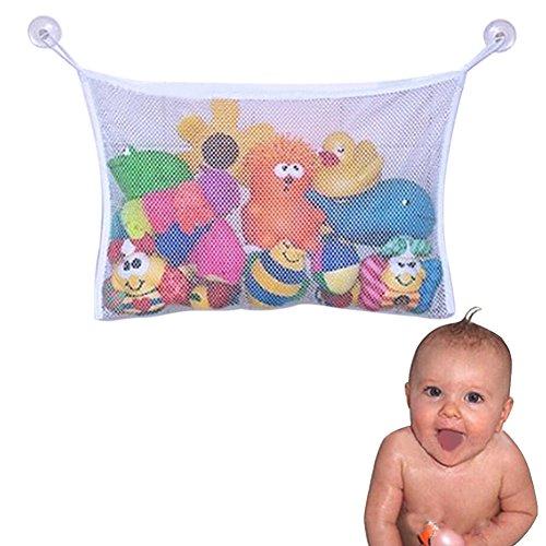 CHIC-CHIC Badewannen-Spielzeugnetz Netz-Net Tasche große Speicher-Beutel mit Saugnapf -