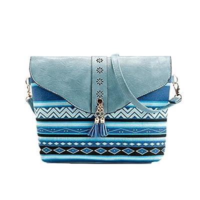 Sac à bandoulière, LHWY Les femmes à la mode les sacs à main d'impression de fleur de modèle doux sac d'épaule