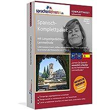 Spanisch-Komplettpaket mit Langzeitgedächtnis-Lernmethode von Sprachenlernen24.de. Intensivkurs: Lernstufen A1 bis C2. Wortschatz & Grammatik. Software-DVD für Windows 8,7,Vista,XP/Linux/Mac OS X