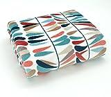 Ethno Kuscheldecke Traumfänger mehrfarbig SUPER SOFT Wohndecke 200x150 Ökotex Flanell Decke Typ540