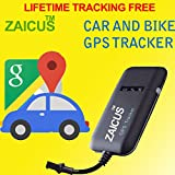 ZAICUS 4 band car GPS tracker GT02A Goog...