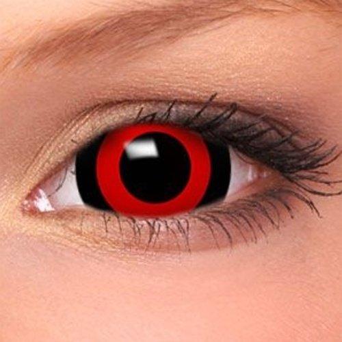 Sclera Lenses Anime Tokyo Ghoul Mini, farbige Monatslinsen, mehrfarbig, Ohne Sehstärke, 1 Stück