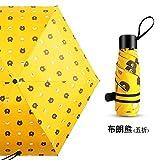 compact Parapluie compact Parapluie de voyage à séchage rapide Cadre renforcé résistant au vent Umbrella men and women tide sun stack simple flow student discount love funny umbrella 50% off...