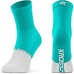 Kross Calcetines De Ciclismo Active Lady Mid (S, Verde)