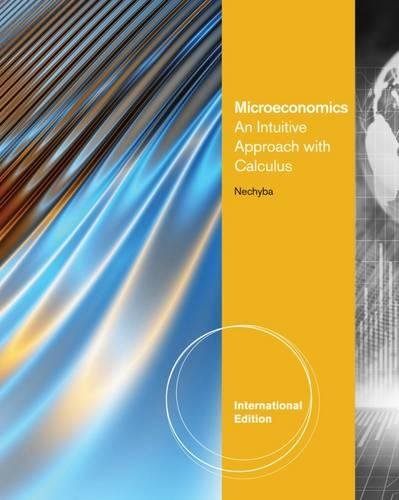 Microeconomics with Calculus, International Edition (with LiveGraphs Printed Access Card)