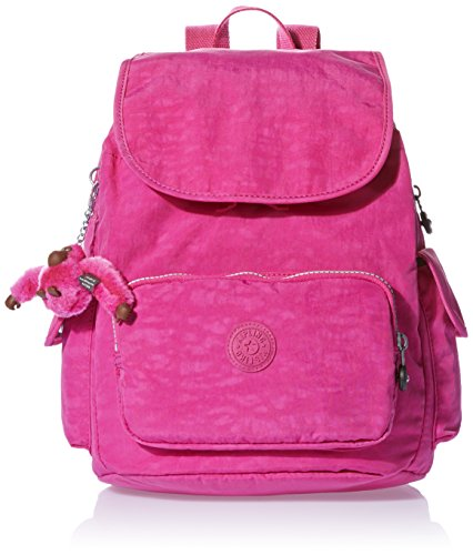 Kipling City Pack S, Sacs à dos femme, Pink (Verry Berry), One Size