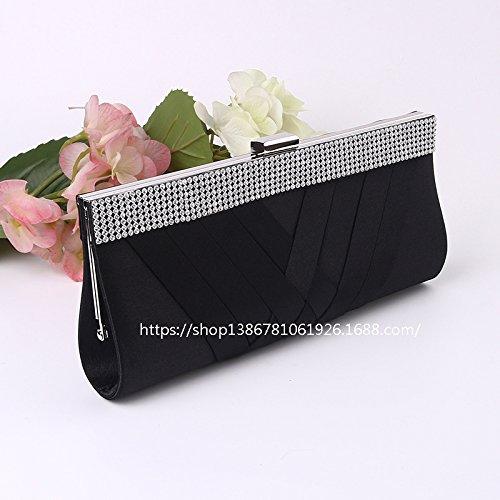 Die Neue, Hochwertige, Handtaschen, Abend - Tasche, Hand - Tasche, Umhängetasche black