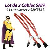 Set x2Kabel SATA 43N9131Lenovo Think Center A25M58735948cm Rot