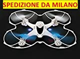 RC QUADRICOTTERO - DRONE MJX X300C FPV con telecamera Wifi Iphone Android HD TEMPO REALE + Headless + One Key Return