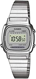 Casio Collection Damen Retro Armbanduhr LA670WEA-7EF