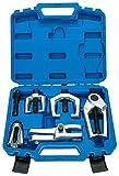 Freetec, kit di 6pezzi,estrattore per giunto sferico, attrezzo per giunto di sospensione, giunto sferico, testa del tirante