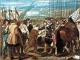 Cuadro sobre lienzo 80 x 60 cm: The Surrender of Breda de Diego Rodriguez de Silva y Velazquez - cuadro terminado, cuadro sobre bastidor, lámina terminada sobre lienzo auténtico, impresión en lienz...