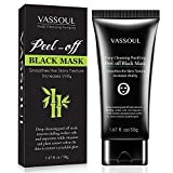 Blackhead Mask Remover Peel Off Deep Skin Clean Purifying Face Mask Vassoul (50g)