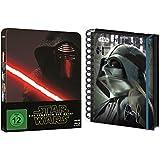 Star Wars: Das Erwachen der Macht - Limited Edition Steelbook + Bonusdisc [Blu-ray] + Notizbuch Darth Vader Geschenk Set
