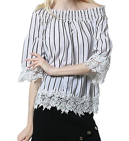 ICOCOPRO - T-shirt - Femme - blanc - Medium