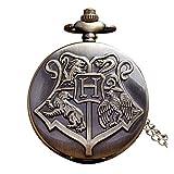 TheOkado Reloj de Bolsillo Harry Potter Hogwarts