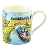 Canal Fine China Mug in Gift Box by Lesser & Pavey