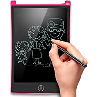 "EooCoo LCD Writing Tablet 8.5"", Tablet de Escritura LCD, Tablet- de escritura LCD tablero de dibujo para niños escritura pizarra, Rosa"