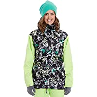 Anakie 3-in-1 giacca da snowboard da donna, donna, Adventure 3-in-1, lime,