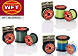 WFT KG STRONG Schnur 300m 0,12mm 15kg, Farbe:multicolor