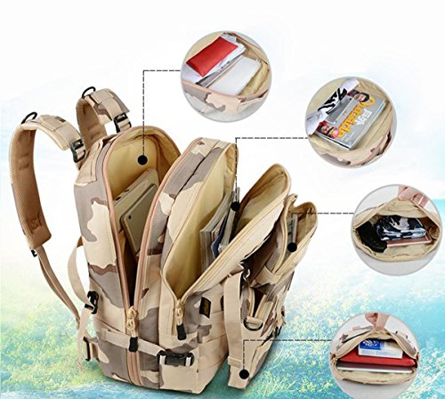 DBZD Professionelle Bergsteigen Tasche Outdoor Multifunktions-wasserdicht Camping-Paket, große Kapazität A