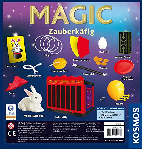 Kosmos Magic Zauberkäfig Zauberartikel & -tricks