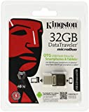 Kingston Technology - DataTraveler Micro Duo - Clé USB 2.0 32 Go - Noir