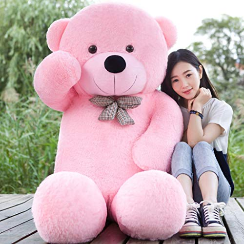 MOM'S GADGETS 3 feet Teddy Bear/3 feet Teddy Bears for Girls Love/3 feet Teddy Bears Pink/Soft Teddy Bear/Soft Teddy 3 feet/Huggable Teddy/Huggable Te at amazon