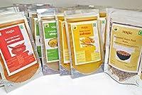Magic Turmeric powder +Corriander powder+Red chilli powder+ Soya nut small/Pack of Haldi (30g*3),dhaniya(30g*3),Lal mirch(30g*3), Soyanut(60g*2)