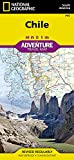 National Geographic Chile : South America: Adventure Travel Map