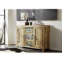 suchergebnis auf f r sideboard mangoholz k che haushalt wohnen. Black Bedroom Furniture Sets. Home Design Ideas
