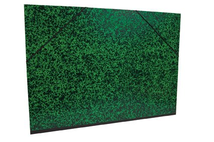 Clairefontaine Annonay 'Art carpeta con elástico, verde, 52x 72cm