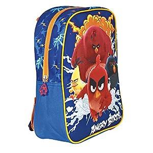 51SYOI1fVCL. SS300  - PERLETTI Mochila Infantil Niño Angry Birds - Bolso Escolar Estampado Red Chuck Bomb y Terence - Bolsa para la Escuela…