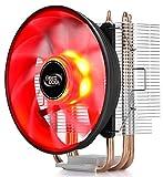 DEEPCOOL GAMMAXX 300 RED Prozessorlüfter CPU-Kühler für Intel und AMD AM4 READI