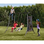 Plum Eris Swing Set