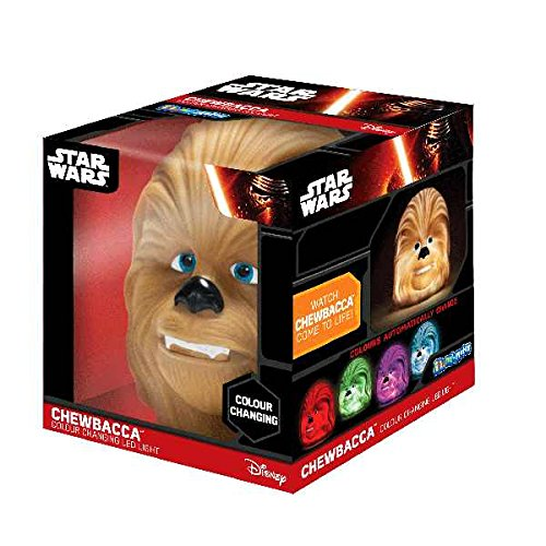 Illumi-Mates Star Wars Chewbacca Childrens Illumi-mates Calm Colour Changing LED Night Light