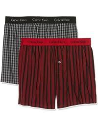 Calvin Klein Underwear 000NB1039A - Caleçon - Lot de 2 - Homme