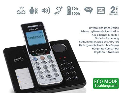 Swissvoice 196T analog DECT Telefon mit Abrufbeantworter