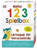 Lernspaß für Vorschulkids. Meine 123-Spielbox: Buch, Spielkarten, Spielplan und Bastelwürfel. Mit Pädagogen entwickelt